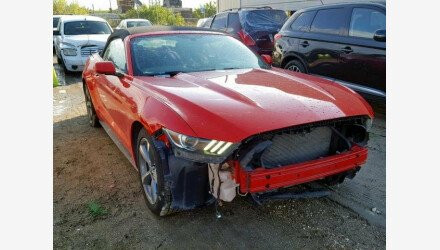 2016 Ford Mustang Convertible for sale 101172057