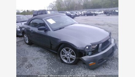 2010 Ford Mustang Convertible for sale 101172177
