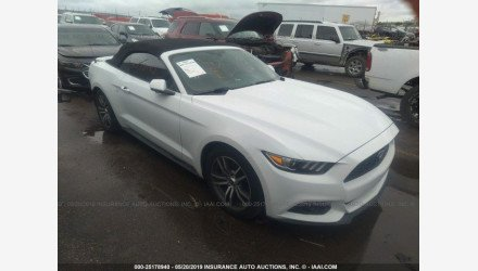 2016 Ford Mustang Convertible for sale 101172182