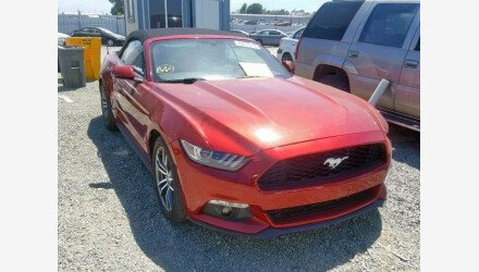 2017 Ford Mustang Convertible for sale 101172732