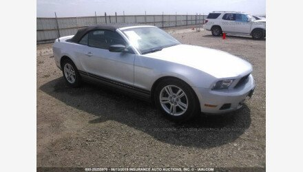 2012 Ford Mustang Convertible for sale 101172833