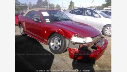 2000 Ford Mustang Convertible for sale 101172876