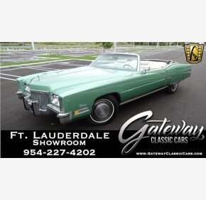 1972 Cadillac Eldorado for sale 101173154