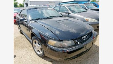 2002 Ford Mustang Convertible for sale 101173330