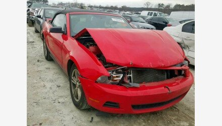 2012 Ford Mustang Convertible for sale 101173336