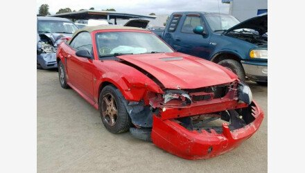 2002 Ford Mustang Convertible for sale 101173426