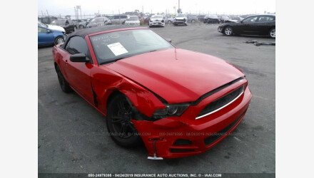 2013 Ford Mustang Convertible for sale 101173494