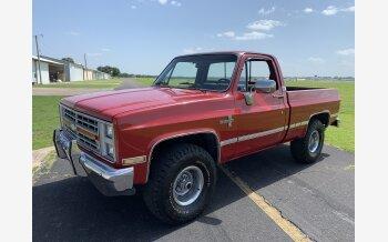 1986 Chevrolet C/K Truck Silverado for sale 101173969