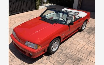 1991 Ford Mustang GT Convertible for sale 101174543