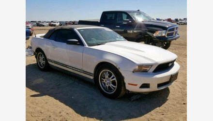 2012 Ford Mustang Convertible for sale 101174828