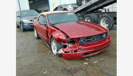 2007 Ford Mustang Convertible for sale 101175310