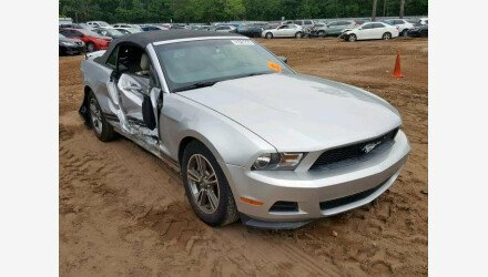 2012 Ford Mustang Convertible for sale 101175349