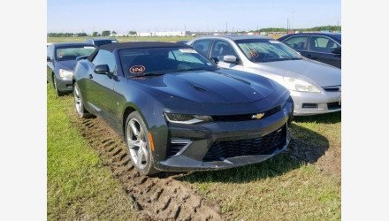 2017 Chevrolet Camaro SS Convertible for sale 101175350