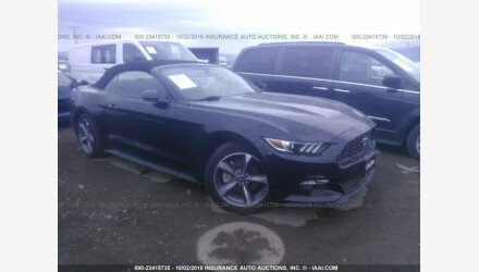 2015 Ford Mustang Convertible for sale 101175561