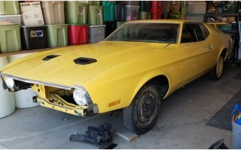 1971 Ford Mustang Mach 1 Coupe for sale 101175889