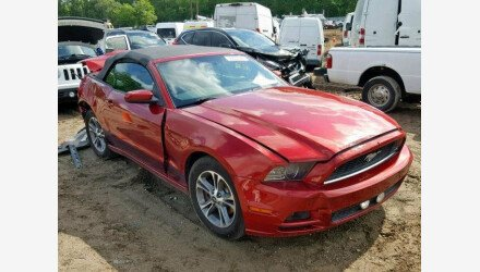 2014 Ford Mustang Convertible for sale 101176103