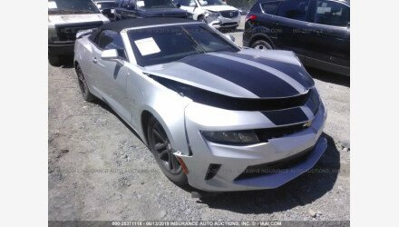 2016 Chevrolet Camaro LT Convertible for sale 101176128