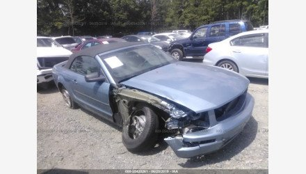 2007 Ford Mustang Convertible for sale 101176175