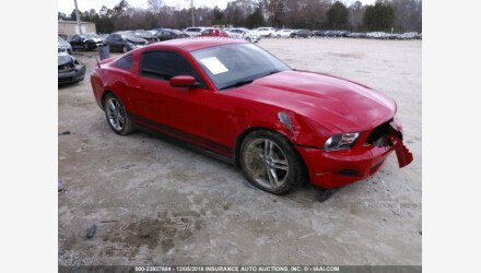 2012 Ford Mustang Coupe for sale 101176205