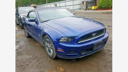 2014 Ford Mustang Convertible for sale 101176675