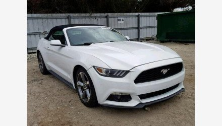 2015 Ford Mustang Convertible for sale 101176755