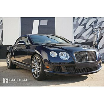 2014 Bentley Continental GTC Speed Convertible for sale 101176805