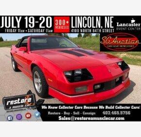 1989 Chevrolet Camaro Convertible for sale 101176957