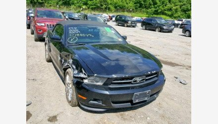 2012 Ford Mustang Convertible for sale 101177203