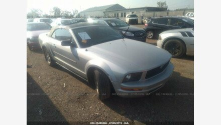 2007 Ford Mustang Convertible for sale 101177394