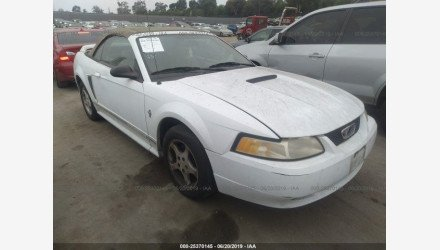 2000 Ford Mustang Convertible for sale 101177440