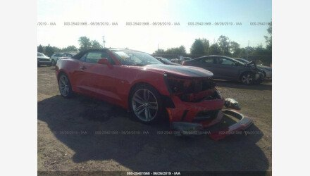 2017 Chevrolet Camaro LT Convertible for sale 101177467