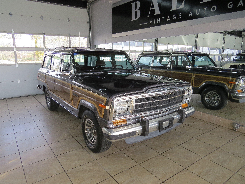 1989 Jeep Grand Wagoneer For Sale Near Saint Charles Illinois 60174 Classics On Autotrader