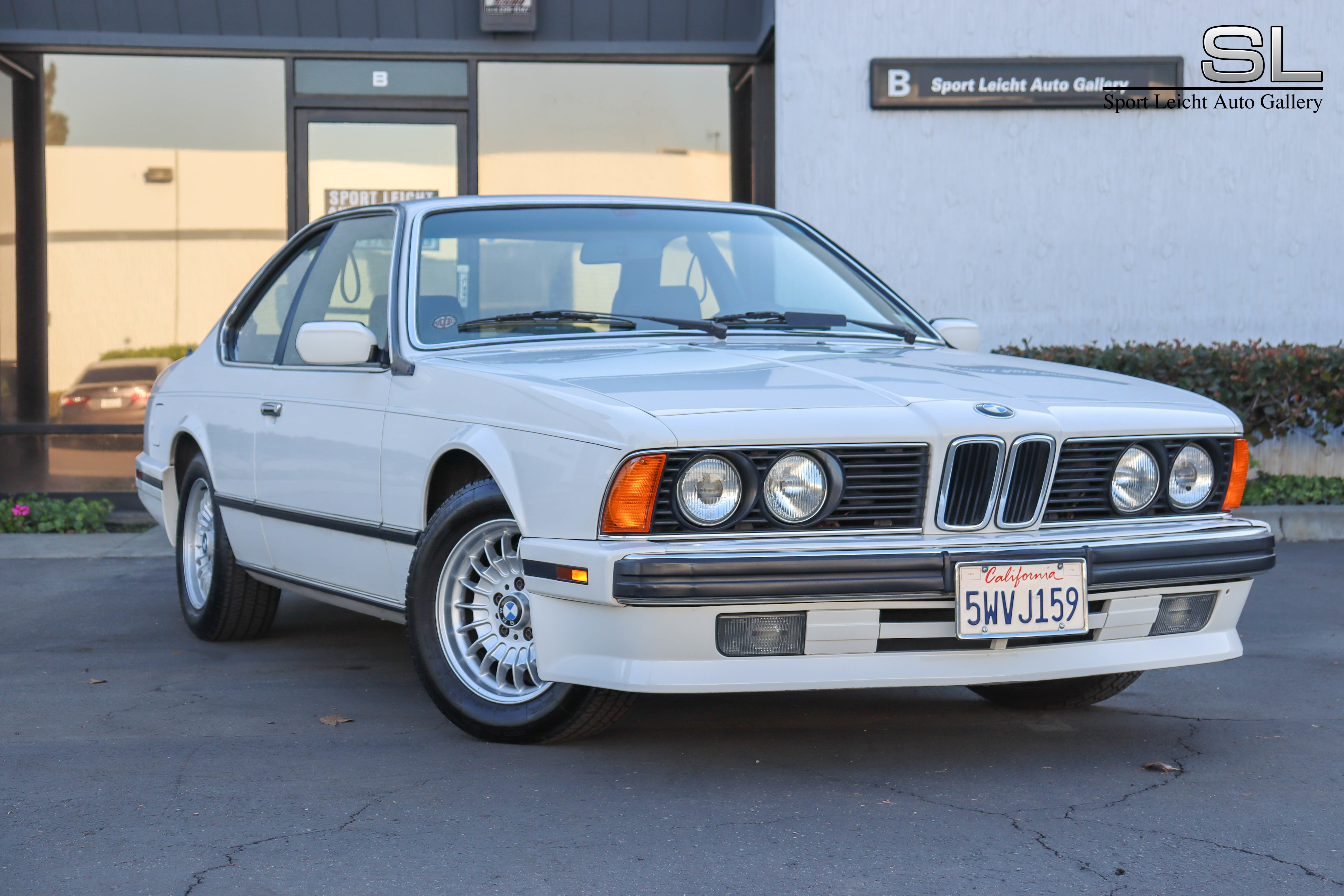 1989 Bmw 635csi Classics For Sale Classics On Autotrader