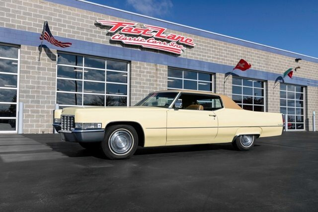 1969 Cadillac De Ville For Sale Near St Charles Missouri 63301 Classics On Autotrader