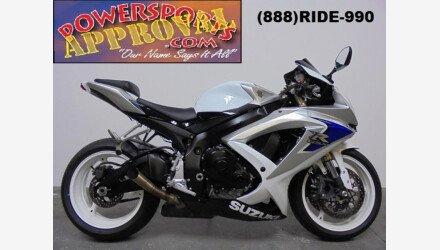 2008 Suzuki GSX-R600 for sale 200431111