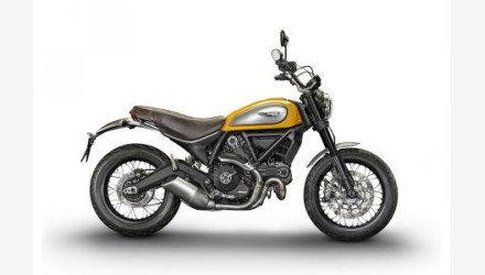 2017 Ducati Scrambler Motorcycles For Sale Motorcycles On Autotrader