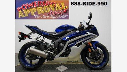 2016 Yamaha YZF-R6 for sale 200530039