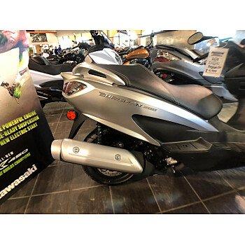 2018 Suzuki Burgman 200 for sale 200551657