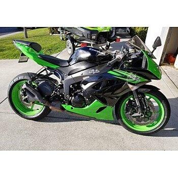 2012 Kawasaki Ninja ZX-6R for sale 200569891