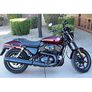 2015 Harley-Davidson Street 750 for sale 200587442