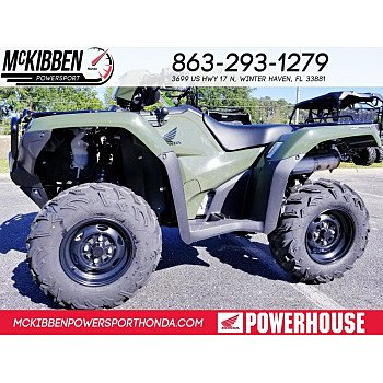 2018 Honda FourTrax Foreman Rubicon for sale 200588693