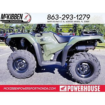 2018 Honda FourTrax Foreman Rubicon for sale 200588698