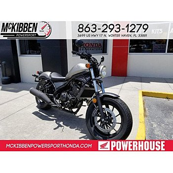2018 Honda Rebel 500 for sale 200588834