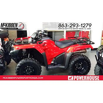 2018 Honda FourTrax Rancher for sale 200588860