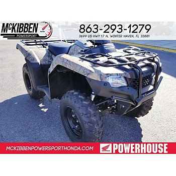 2018 Honda FourTrax Rancher for sale 200588861