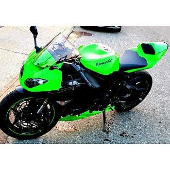 2011 Kawasaki Ninja ZX-6R for sale 200590516