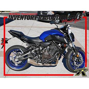 2018 Yamaha MT-07 for sale 200603356