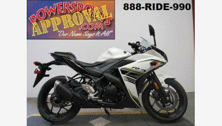 2017 Yamaha YZF-R3 for sale 200610934