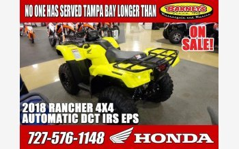 2018 Honda FourTrax Rancher for sale 200635248