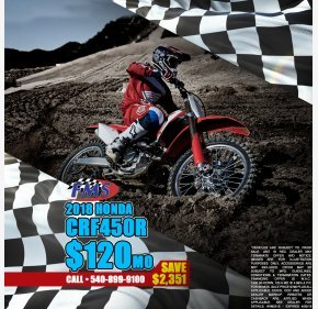 2018 Honda CRF450R for sale 200641422